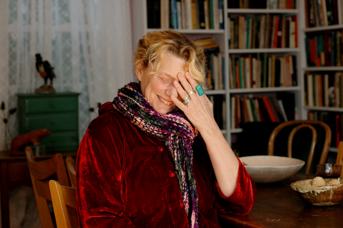 The author Abigail Thomas as photographed by Jennifer May